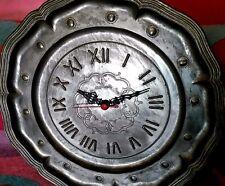 HORLOGE en ETAIN: Diametre= 36cm FONCTIONNE année1970
