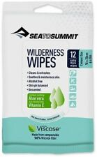Sea to Summit WILDERNESS WIPES compostable personal hygiene wipes for travel