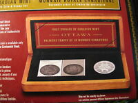 Canada 2008 Extremely Rare 100th Anniversary Coin & Stamp Set Mintage 16000.