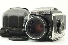 【N.MINT】Zenza Bronica S2  w/ Nikkor-P 75mm f/2.8 Lens from JAPAN #105