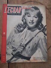 Antiguo revista cine - La pantalla en francés - Nº32 - Febrero 1946 - Goddard