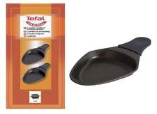 2 coupelles ovales pour appareil à raclette Tefal - XA400102 SEB