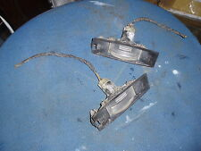 2001 FORD KA REAR NUMBER PLATE LIGHT x2, FAST DISPATCH CAR PART