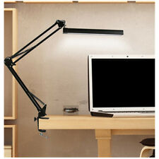Adjustable Long Arm Desk Lamp Work Reading Clip-on LED Table Light Lamp AU Ship