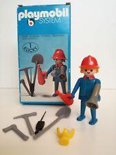 Playmobil 3366 - Firemen with gear (Klicky, OVP, Klicky Box)