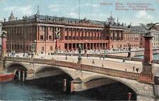 """antique german postcard Berlin"""" Friedrichsbrücke Börse   """"3348"""""""