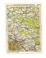 Deutschland Karten Berliner Morgenpost, Blatt 40 Oberschlesien, Oppeln, Ratibor,