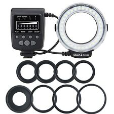 Meike FC-100 Macro Ring Flash/Light for Canon Nikon Pentax Olympus SLR Camera