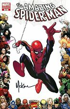 The Amazing Spider-Man #602 Variant Edition Signed Artist Mike McKone