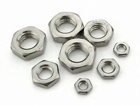 12Pcs M6x1 Stainless Steel Hex Nut Right Hand Thread [SN-T]