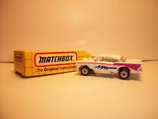 New Vintage Matchbox MB 4 57 chevy mint in box