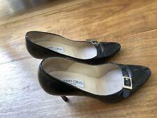 Jimmy Choo 39 Black Patent Ladies Stilettos