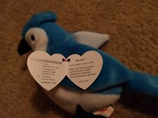"""The Beanie Babies Collection, """"Rocket"""" Blue Jay, Excellent condition"""