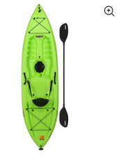 Outdoor Adult Kayak Paddle Kayaks Sit On Top Boats One Person Fishing 10 Ft Lake