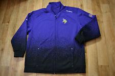 GENUINE Reebok NFL VIKINGS Zip Jumper/Jacket size  2XL/ XXL