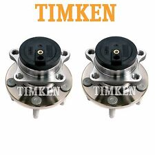 For Ford Lincoln 07-08 FWD Pair Set of 2 Rear Wheel Bearings & Hub Assies Timken