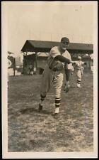 1928 Walter Johnson Photo Newark Bears from Family Estate Washington