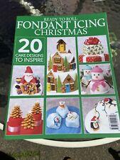 Fondant Icing Christmas Cake Designs To Inspire Paperback Book Magazine