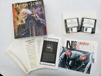 "Lands of Lore: The Throne of Chaos 1993 Big Box PC Game 3.5"" CIB  FREE Fast S/H"