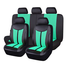 New arrival Delux faux leather car seat covers protectors mesh qality breathable