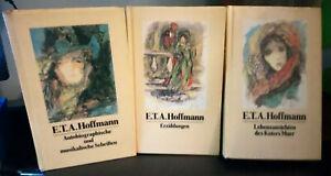 Gesammelte Werke in 5 Bänden von E.T.A. Hoffmann - gebunden