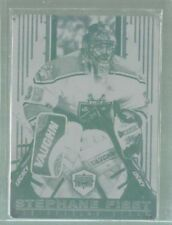 1998-99 Pacific Dynagon Ice #87 Stephane Fiset Print Plate 1/1 (ref44413)   1/1