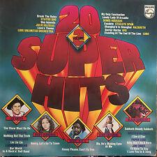 20 Super Hits Vol. 2 - Leo Sayer- Barry White - Black Sabbath -UFO-Vinyl LP F3