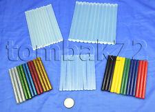 More details for hot melt glue sticks mini short long clear coloured glitter electric gun refills
