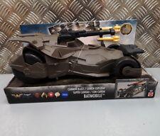 Batman 12 Inch Cannon Blast Batmobile Mattel DC Justice League Boys Super Hero