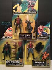 Batman Forever Action Figures Lot of 3 Robins Kenner *REDUCED*  MIB