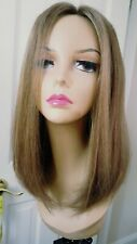 New *clearence* HUMAN HAIR LIGHT BROWN WIG SAPPHIRE BY Jacquelyn 24G/10 Silktop