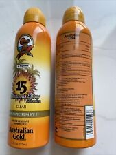 2x Australian Gold Exotic Blend Spf15 Continuous Spray Sunscreen