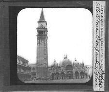 Campanile Saint-Marc Venise place Venice venezia Italie Italia Photography c1900