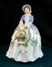 Royal Worcester Figurine Sweet Pansy 1st Quality Excellent Condition Limited Ed.