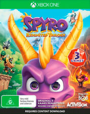 Spyro Reignited Trilogy XBOX One Family Kids Action Adventure Game 3 Games In 1
