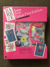 Vintage Barbie Trading Cards Delixe First Edition