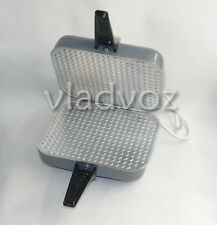 Electric iron maker square Waffle thin wafers Lasunka трубочки вафельница cookie