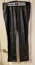 Tripp NYC Black PVC Leather Pants - Size 34