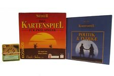 The Settlers of Catan - the Card Game + Extension Politics & Intrigue Kosmos