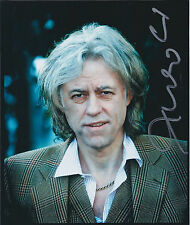 Bob GELDOF SIGNED Autograph Signed Photo AFTAL COA Boom Town Rats Band Aid RARE