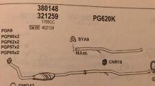 Cat 380148 CITROEN Berlingo 1.9D, PEUGEOT Partner 1.9D   (+details in desc)
