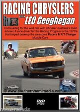 Race Chryslers LEO GEOGHEGAN DVD~Valiant Pacer RT Charger Viper VH CH Video!!!