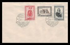 Iceland 1956 FDC, 900th Anniversary og the Bishopric of Skálholt. Lot # 2.