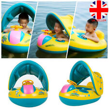 Sunshield Baby Kids Inflating Inflatable Swimming Aid Lilo Trainer Seat Ring UK
