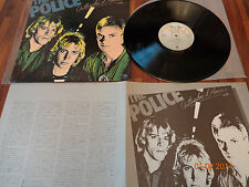 "THE POLICE ""OUTLANDOS D'AMOUR"" - JAPAN LP + INSERT -  AMP 6039 - 1978"