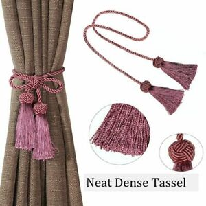 New Curtain Tieback Rope Room Accessories Polyester Tassel Home Decoration Style