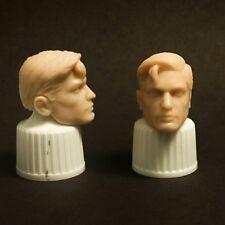 Marvel Legends scale 6 inch Custom Superman Head Cast UNPAINTED.