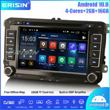DAB+Android 10.0 Car Radio DSP SatNav For VW Passat Golf MK5/6 Tiguan Polo Caddy