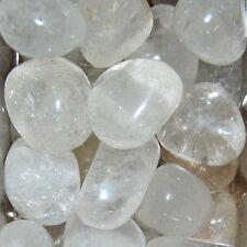 1/4 LB BULK Medium Clear Quartz Tumbled Stone Wholesale Natural Crystal