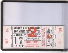 Monterey International  Pop Festival  ticket#2    Alan Pariser estate